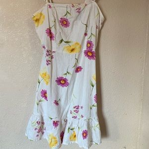 Brunch Flower dress